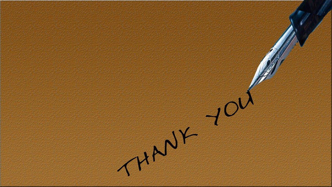thank you, pen, pencil